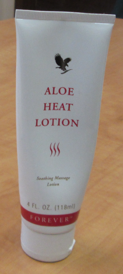 my handy Aloe Heat Lotion