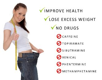 Improve health - lose weight, no drugs