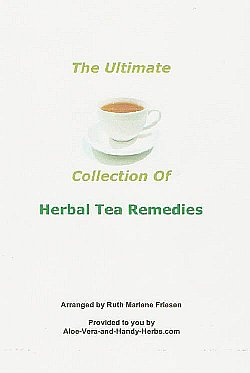 Herbal Tea Remedies e-Book (cover)