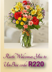 Ruth Welcomes You to UnBox Code:R220