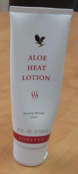 my handy Aloe Heat Lotion