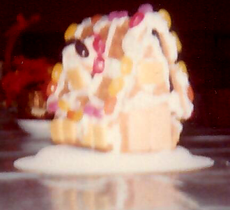 quick and easy gingerbread house