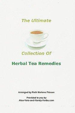 Herbal Tea Remedies e-Book (cover)