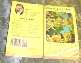 my tattered copy of Back to Eden by Jethro Kloss